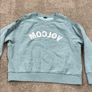 Volcom cold shoulder sweater